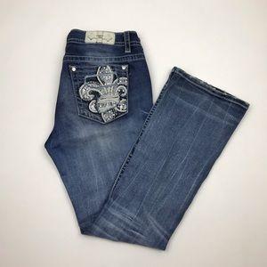 Miss Me Jeans Women's Boot Cut B3142BR Size 31